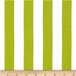 Michael Miller Bekko Home Decor Thin Stripe Kiwi