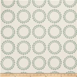 Fabricut 50030w Cercle Wallpaper Aqua 01 (Double Roll)