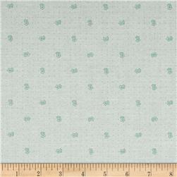 Riley Blake Bee Backgrounds Daisy Teal