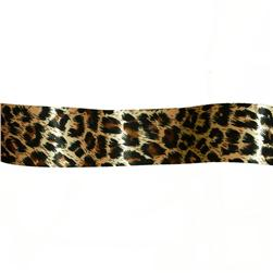 1 1/2'' Satin Ribbon Animal Print Leopard