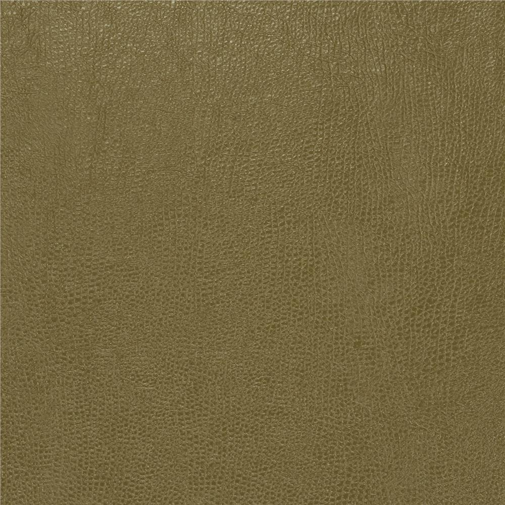 Fabricut 03343 Faux Leather Leaf