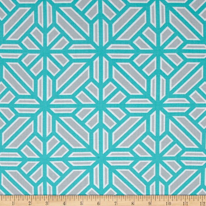 Joel Dewberry Atrium Arbor Mint Fabric by Westminster in USA