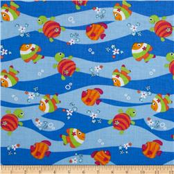 Newcastle Novelties Fish Blue