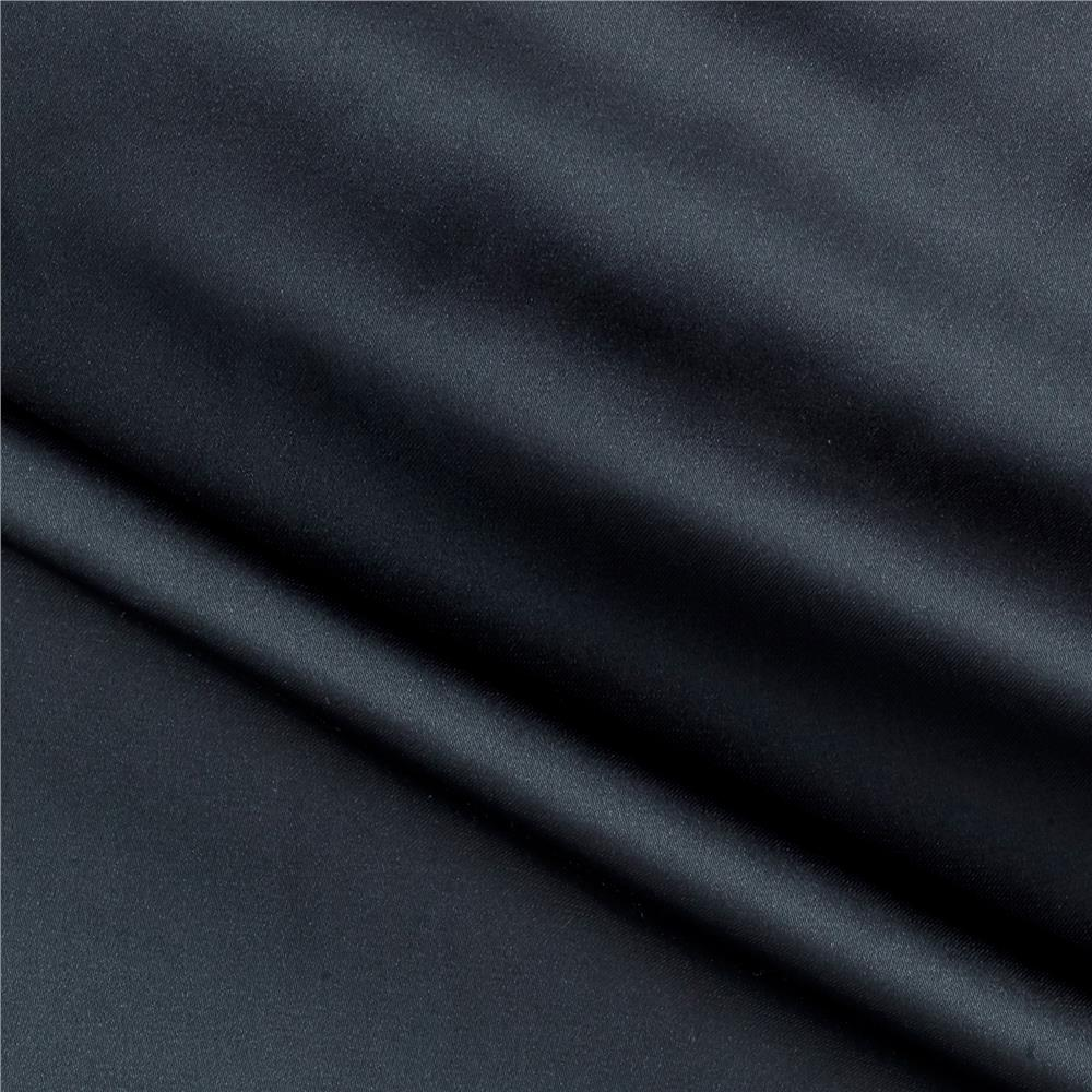 Charmeuse Satin Solid Pebble Fabric