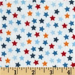 Riley Blake Lucky Star Flannel Star Cream