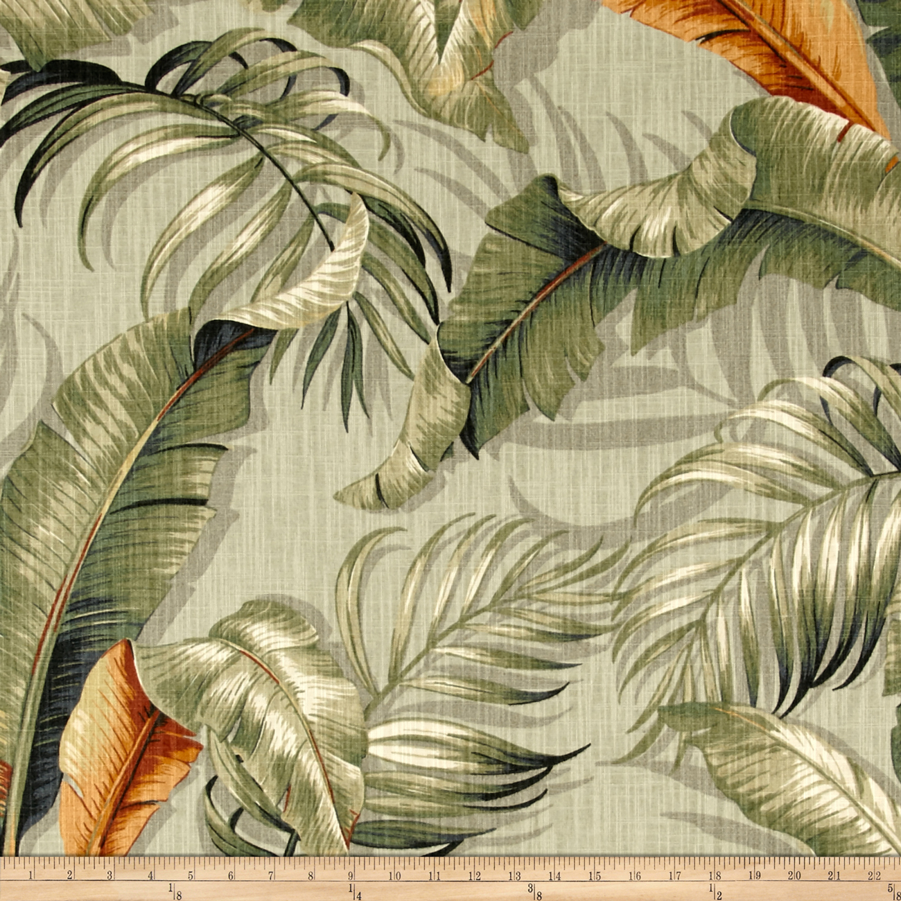 Tommy Bahama Home Dec Palmiers Nutmeg Fabric by Waverly in USA