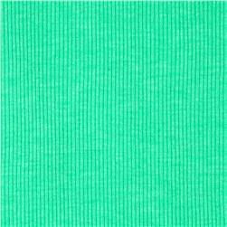 Basic Cotton Blend Rib Knit Mint