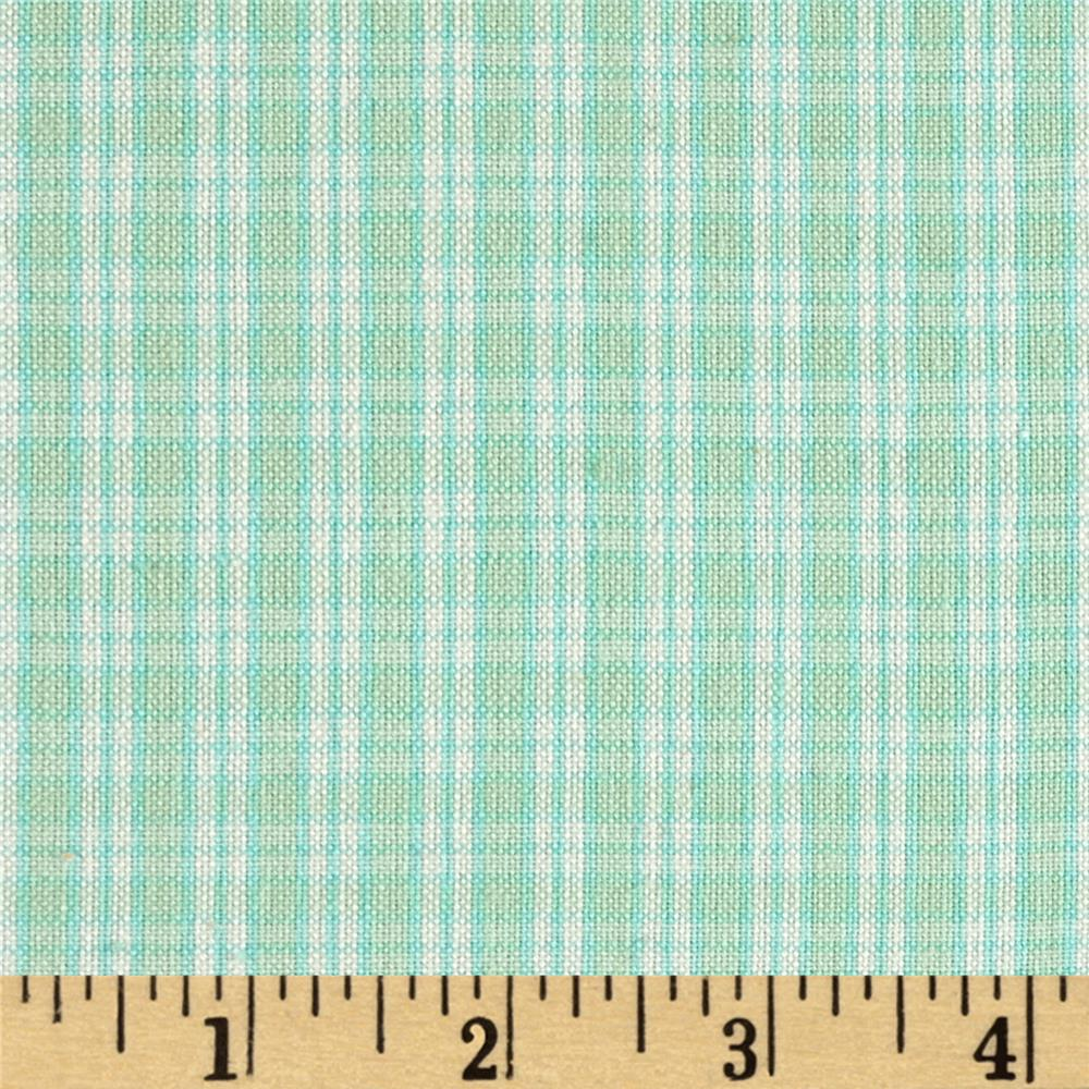 Flannel Plaids & Stripes Mint Green