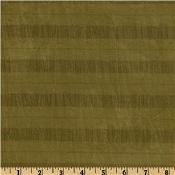 Tencel Crinkled Shirting Olive