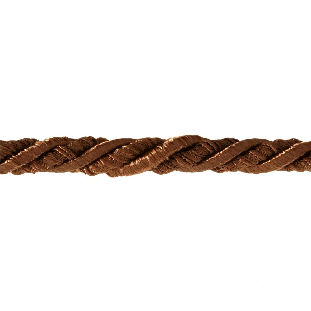 "Lesley 5/16"" Decorative Cord Trim Chocolate"