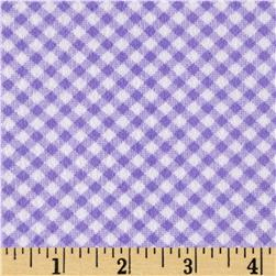 Ric Rac Paddywack Flannel Lavender Gingham