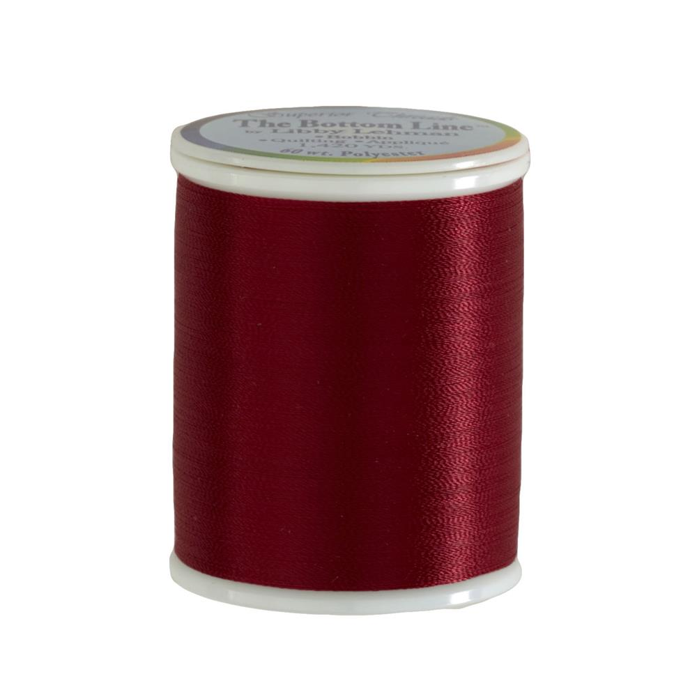 Superior Bottom Line Polyester Thread 60wt 1420yds Red