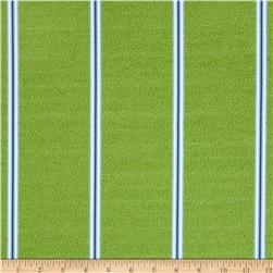 Nautica Indoor/Outdoor Long Beach Stripe Maritime Green
