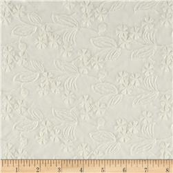 Embroidered Lace Ivory
