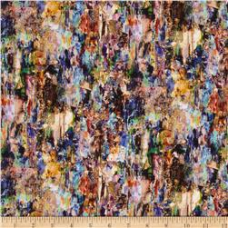 Ridge Rock Digital Print Color Collage Rainforest