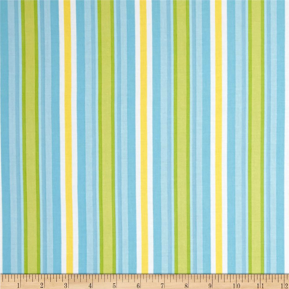 Riley Blake Priscilla Stripe Blue