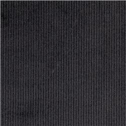 Kaufman 14 Wale Corduroy Black Fabric