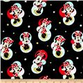 Disney Minnie Traditional Minnie Mouse Badges Black