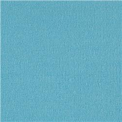Cotton Blend Stretch Terry Turquoise
