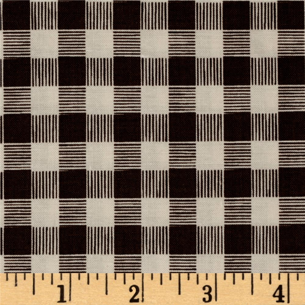 Riley Blake High Adventure Plaid Brown