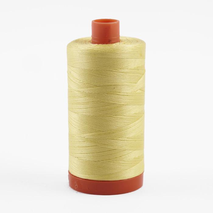 Aurifil Quilting Thread 50wt Lemon