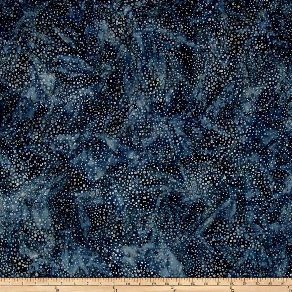 Kaufman Elemental Batiks Tonal Dots Shadow