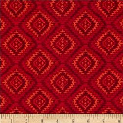Timeless Treasures Tonal Ikat Geo Fire
