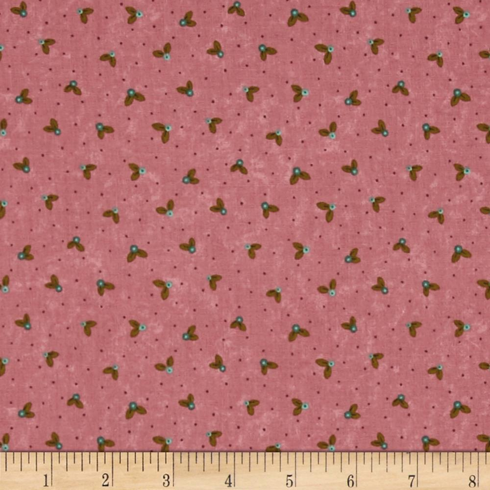 Moda Prints Charming Buds Berry