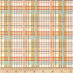 Valori Wells Bridgette Lane Plaid Honey Fabric