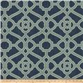Fabricut Hakata Lattice Indigo