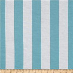 RCA Vertical Stripe Sheers Capri Blue