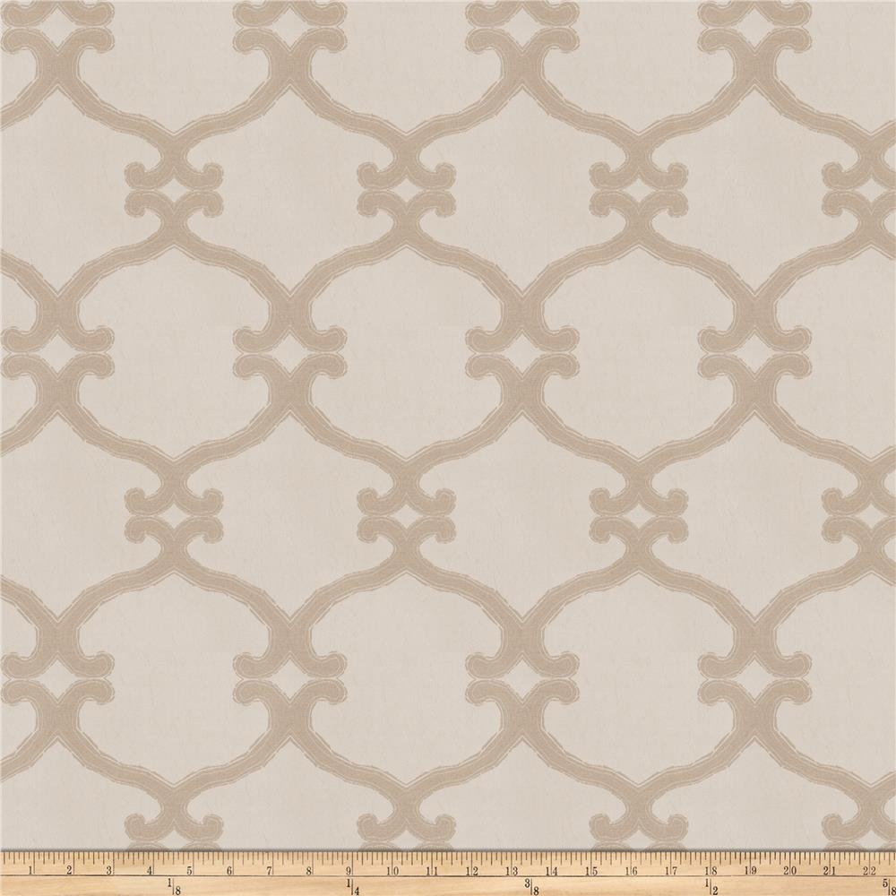 Fabricut Snipes Lattice Jacquard Linen