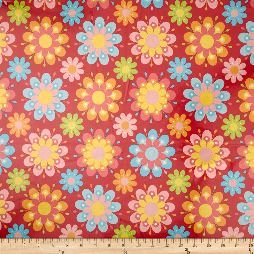 Riley Blake Just Dreamy 2 Laminate Large Floral