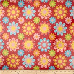 Riley Blake Just Dreamy 2 Laminate Large Floral Red