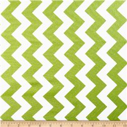 Riley Blake Hollywood Sparkle Medium Chevron Lime