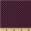 Riley Blake Posy Garden Grid Purple