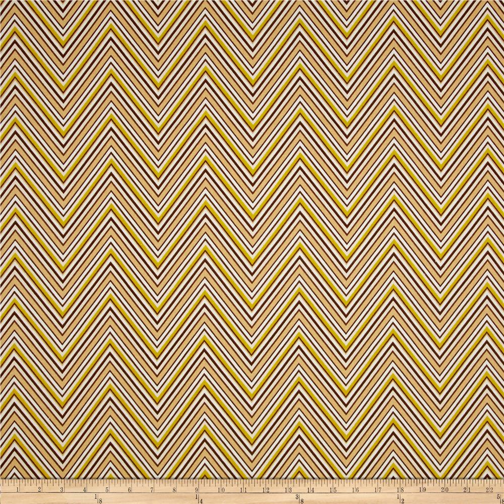 Madison Home Decor Chevron Brown