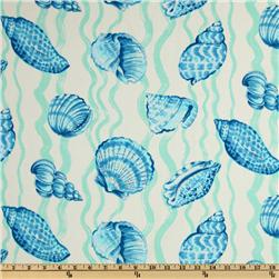 Braemore Sea Life Twill Teal