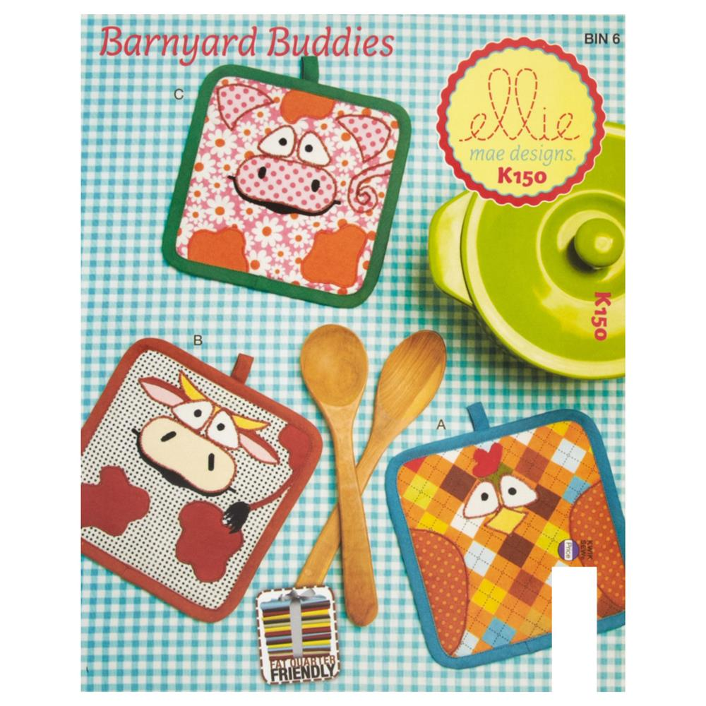 Ellie Mae Designs Barnyard Buddies Pattern
