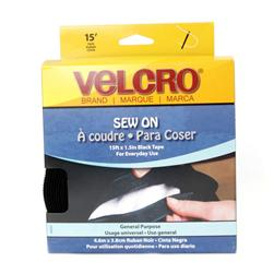 Velcro (R) Brand Tape Black 1-1/2'' By The