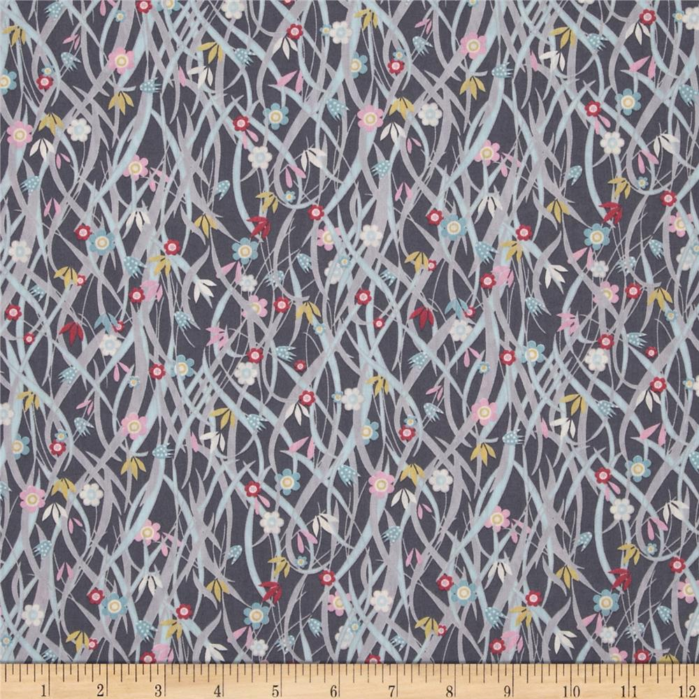 Liberty of London Tana Lawn Seasonal Tana Lawn Patsy Grey/Multi