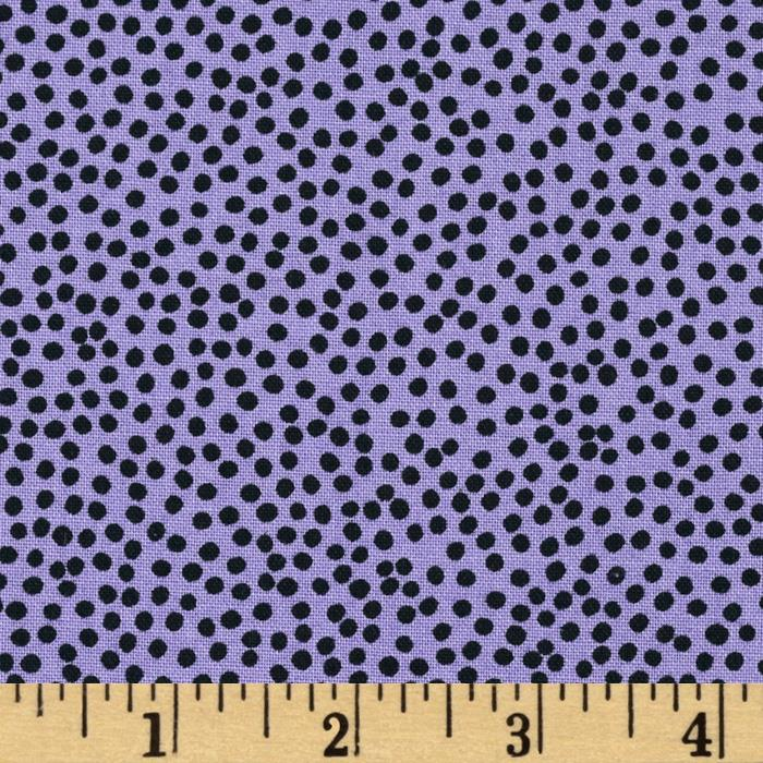 Loralie Church Ladies Bitty Dots Purple
