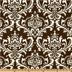 Premier Prints Ozborne Village Brown/Natural Fabric