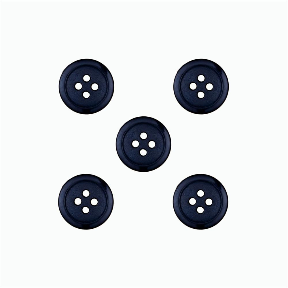 Dill Buttons 9/16'' Polyamid Button Navy