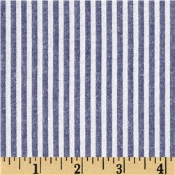 Seersucker Stripe Blue/White