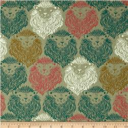 Cotton & Steel Home Decor Canvas August Lions