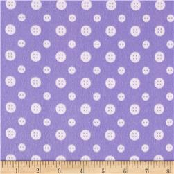 Ric Rac Paddywack Flannel Lilac Buttons