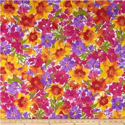 Florist Cotton Poly Broadcloth Fuchsia