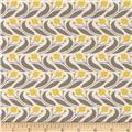 Grey Abbey Organic Swaying Floral Mustard