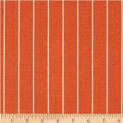 Michael Miller Textured Basics Shoreline Stripe Papaya